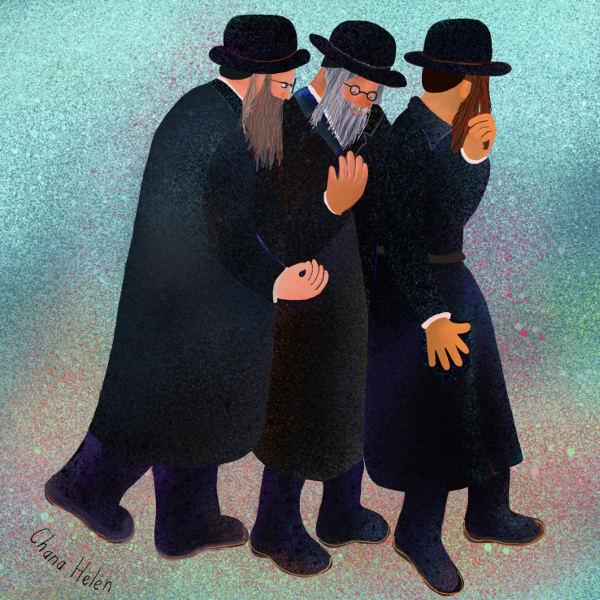Three Men In Jerusalem